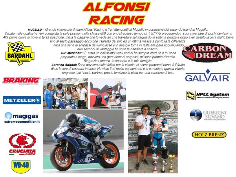 alfonsi Racing e Magigas